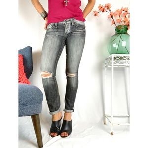 EXPRESS Womens Ripped Jeans